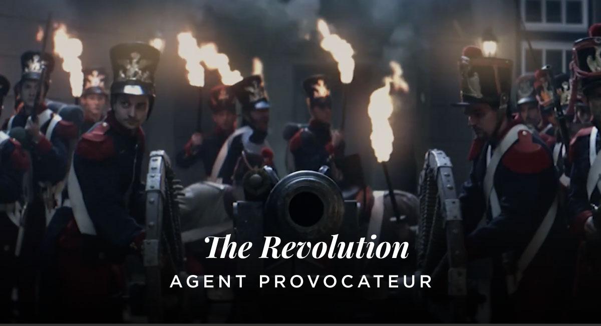Nico Kreis – AGENT PROVOCATEUR 'The Revolution'