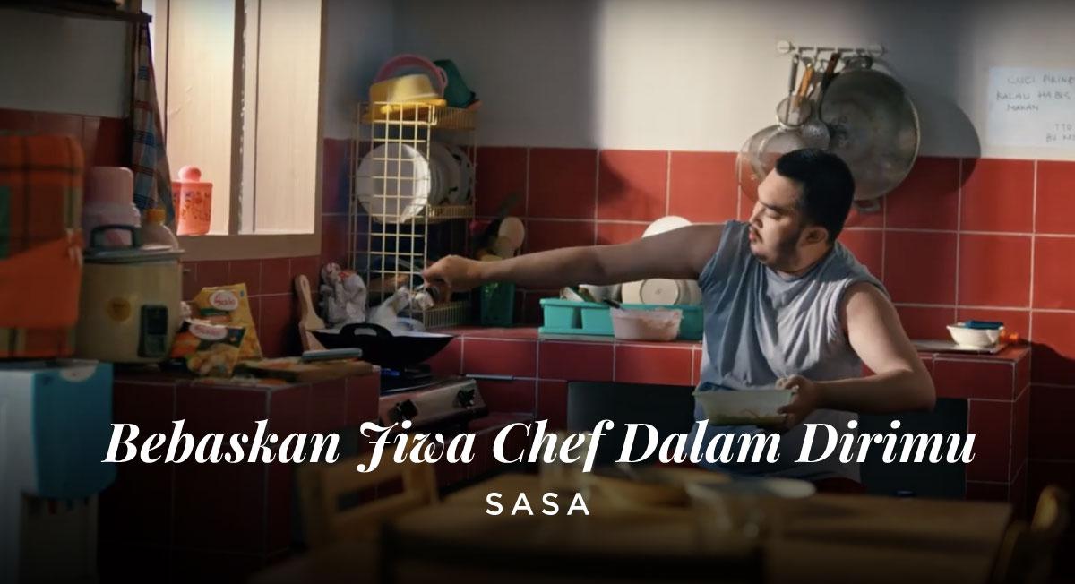 Rudy Satria – SASA Bebaskan Jiwa Chef Dalam Dirimu