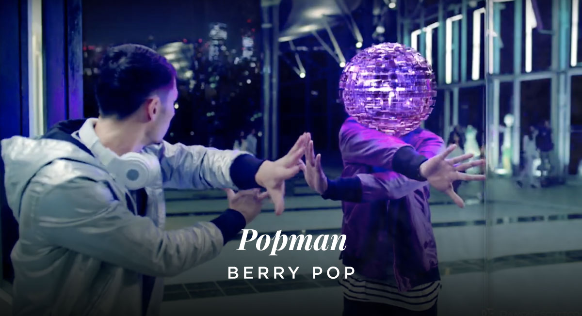 Damon Escott – Berry Pop 'Popman'