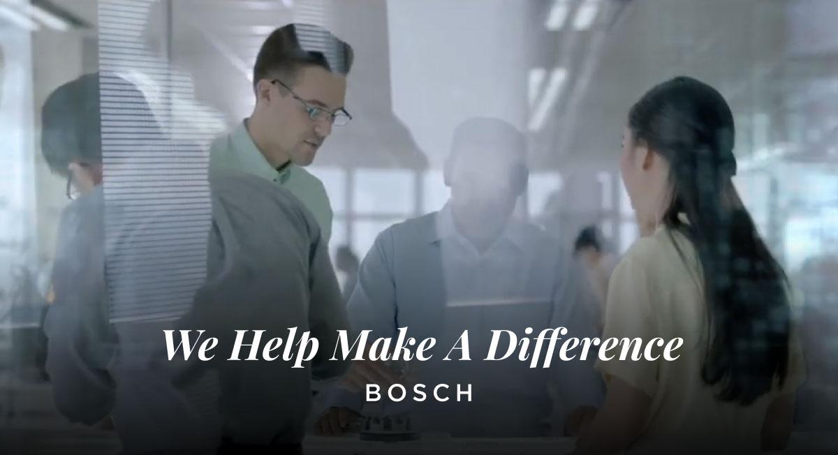 Farouk Aljoffrey – Bosch 'We Help Make A Difference'