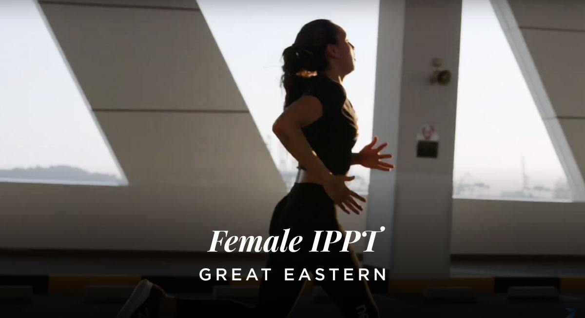 Ted Charles – Great Eastern 'Female IPPT'