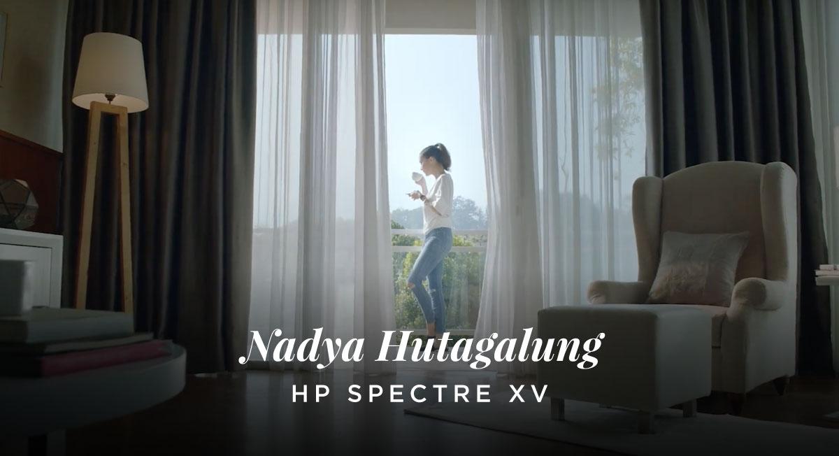 IB Charisma – HP Spectre X – Nadya Hutagalung
