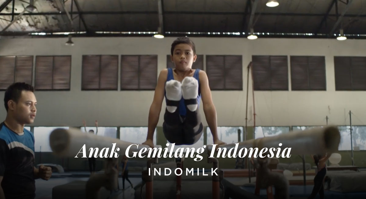 Ben Wee – Indomilk 'Anak Gemilang Indonesia'