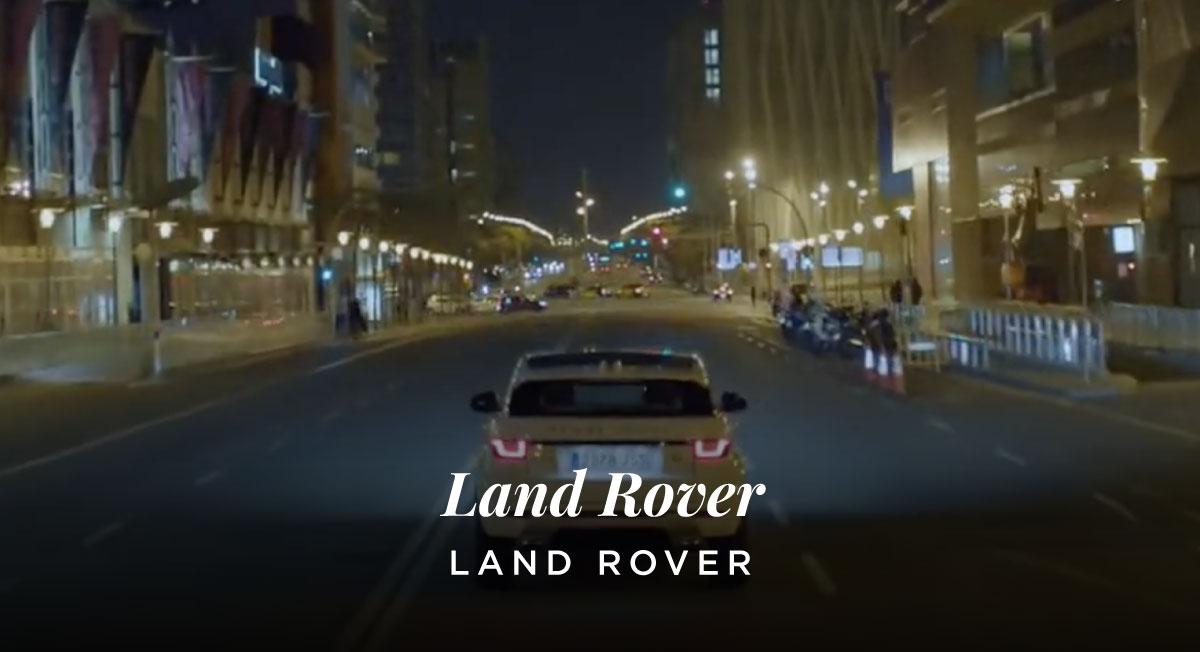 Miguel Campana – Land Rover