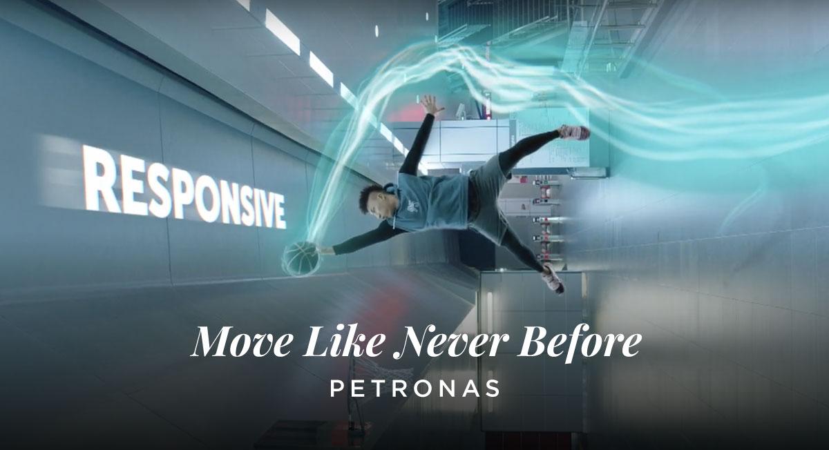 Brad Hogarth – Move Like Never Before – Petronas