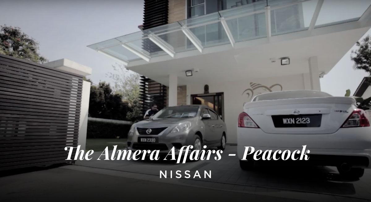 Kubhaer Jethwani – Nissan 'The Almera Affairs – Peacock'