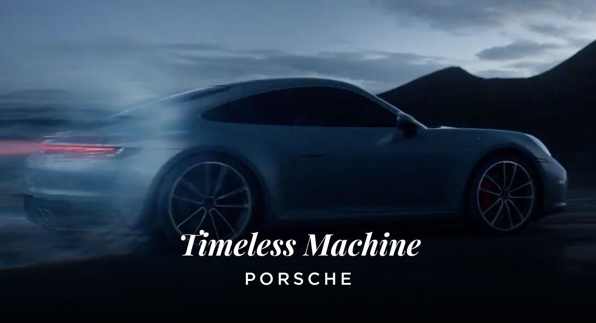 Nico Kreis – PORSCHE 'Timeless Machine'