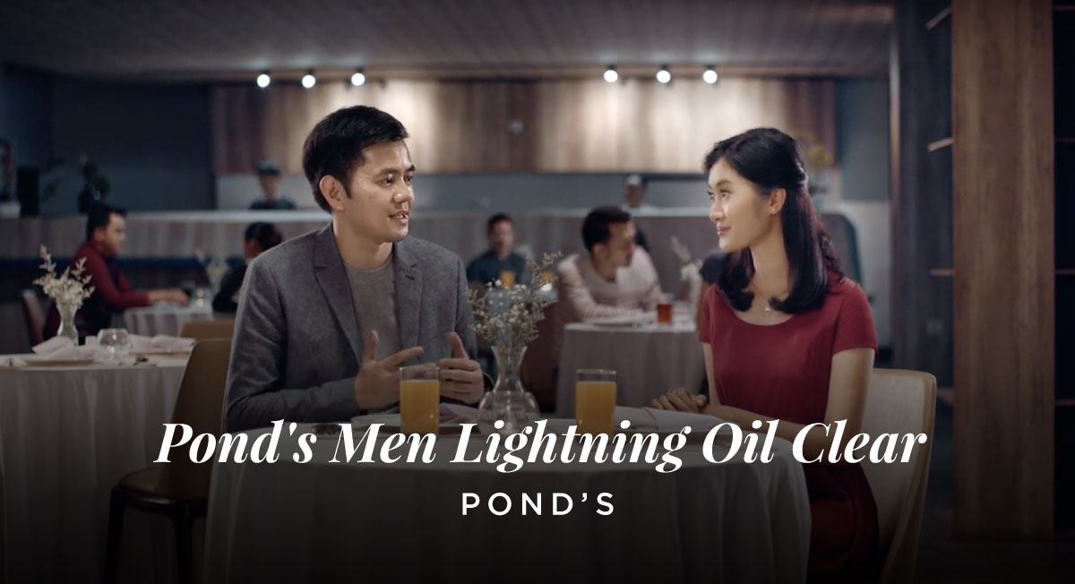 Asrul Hanif – Pond's Men Lightning Oil Clear