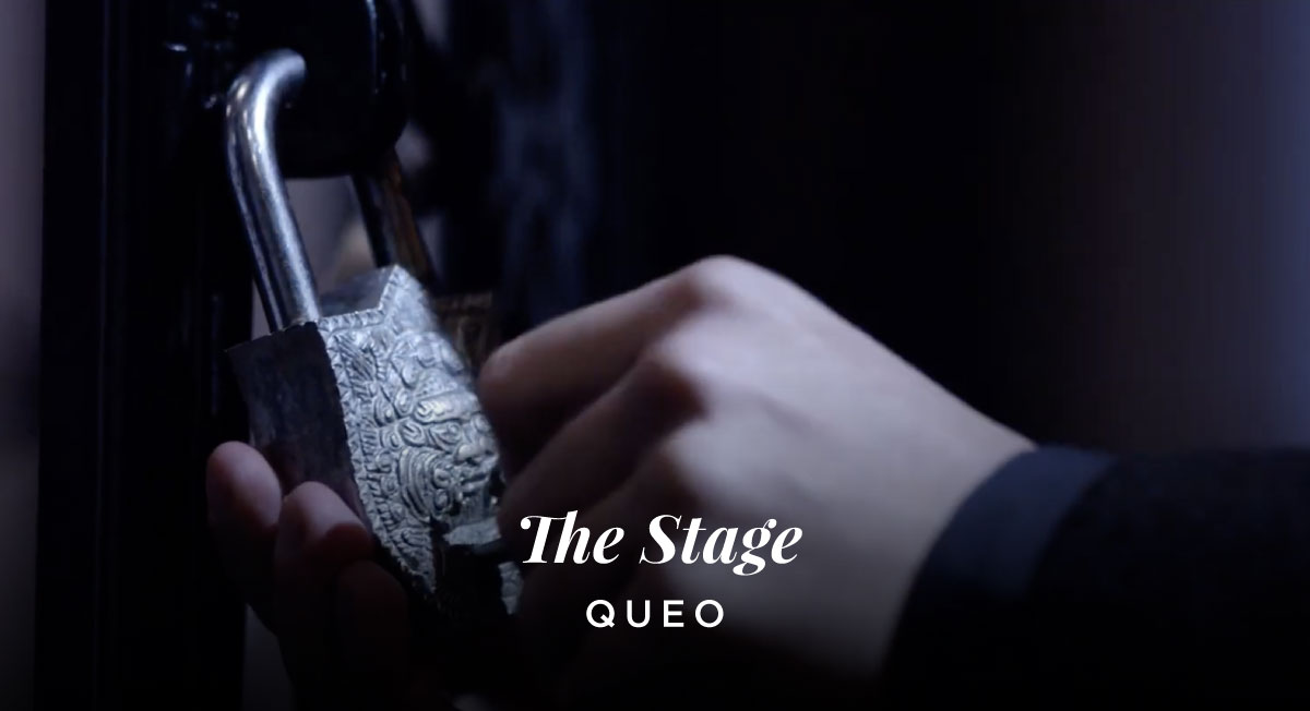 Jon Gwyther – Queo 'The Stage'