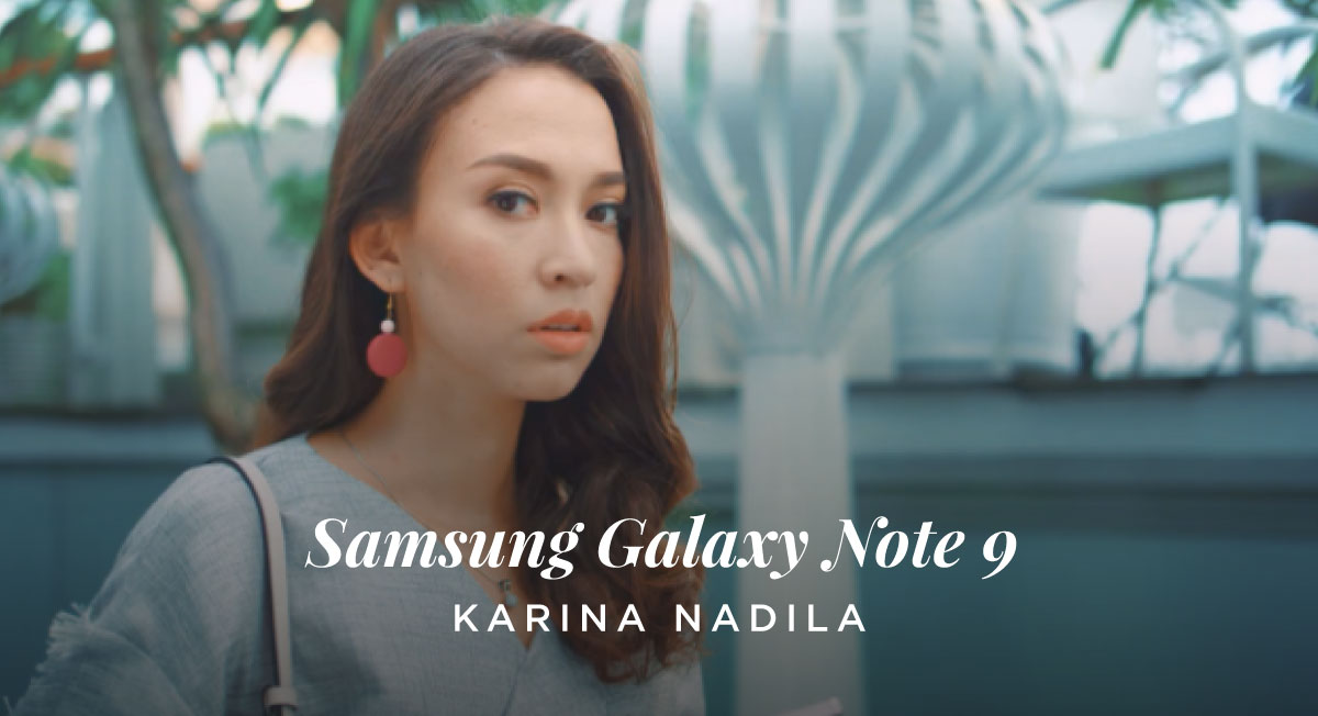 Ananda Syeliane – Samsung Galaxy Note 9