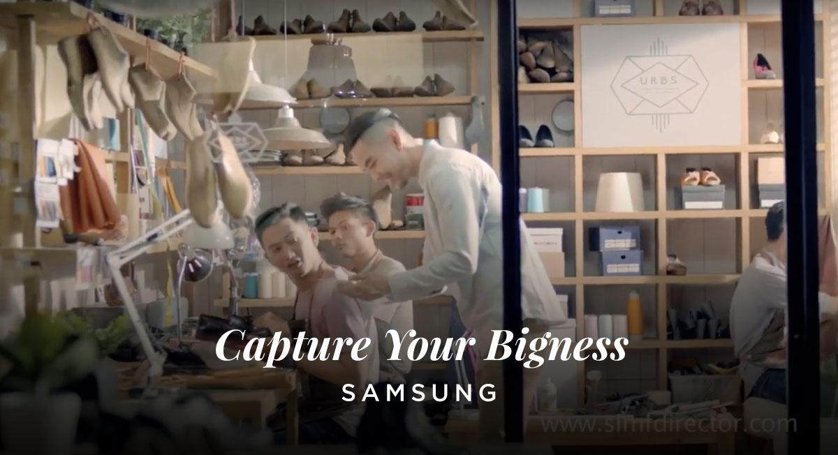 SIM F – Samsung Capture Ur Bigness