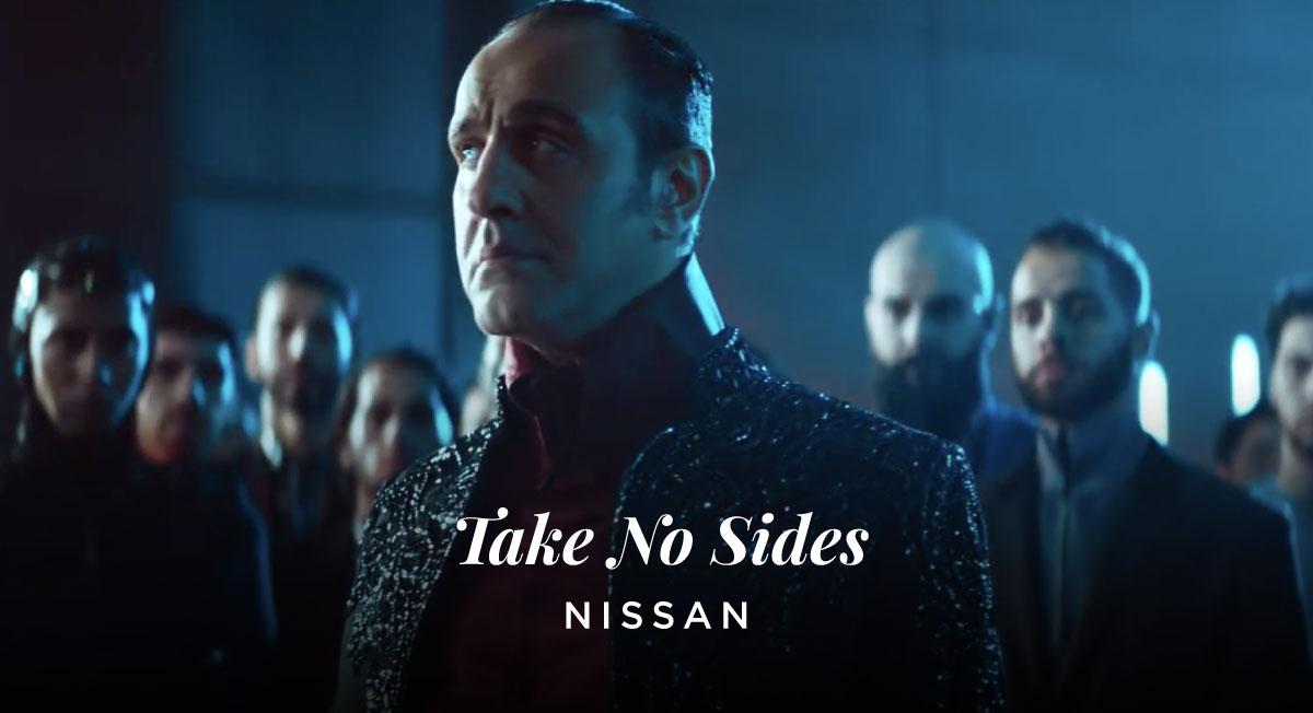 Nico Kreis – NISSAN 'Take No Sides'
