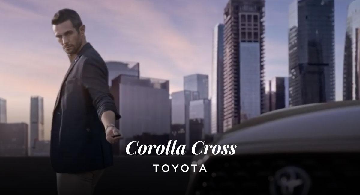 Damon Escott – Toyota Corolla Cross