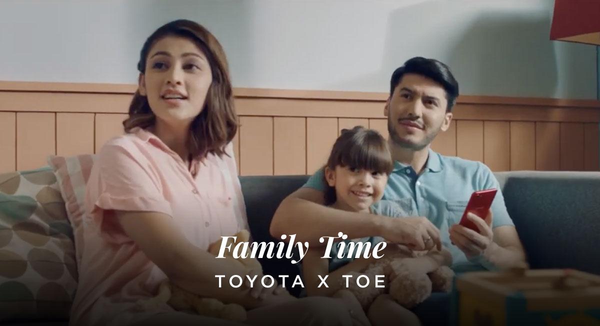 Rudy Satria – Toyota X TOE Ver Family Time