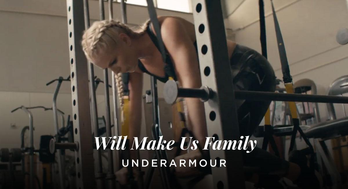 Michel & Nico – Underarmour 'Will Make Us Family'