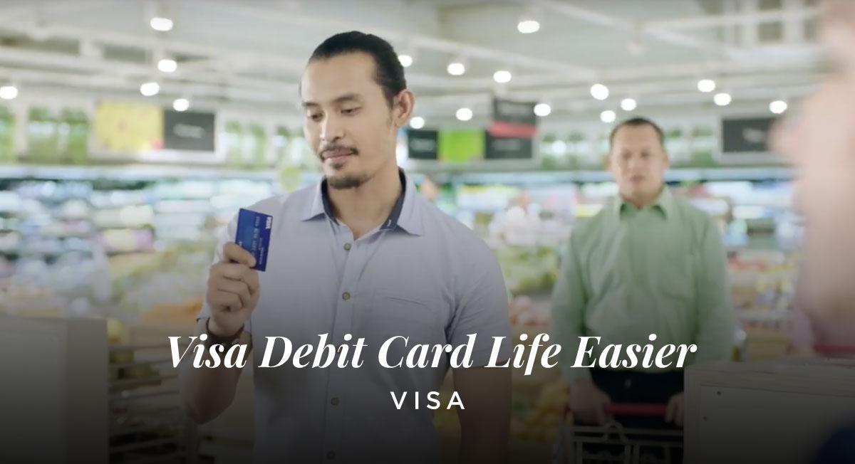 Asrul Hanif – Visa Debit Card