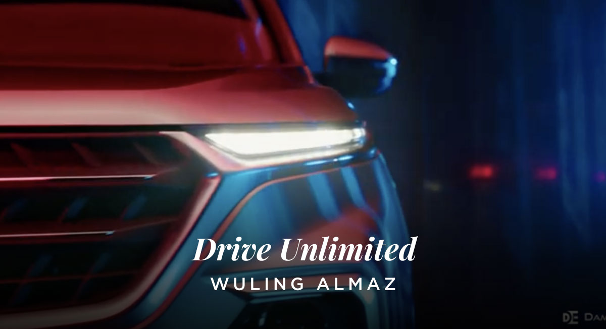Damon Escott – Wuling Almaz 'Drive Unlimited'