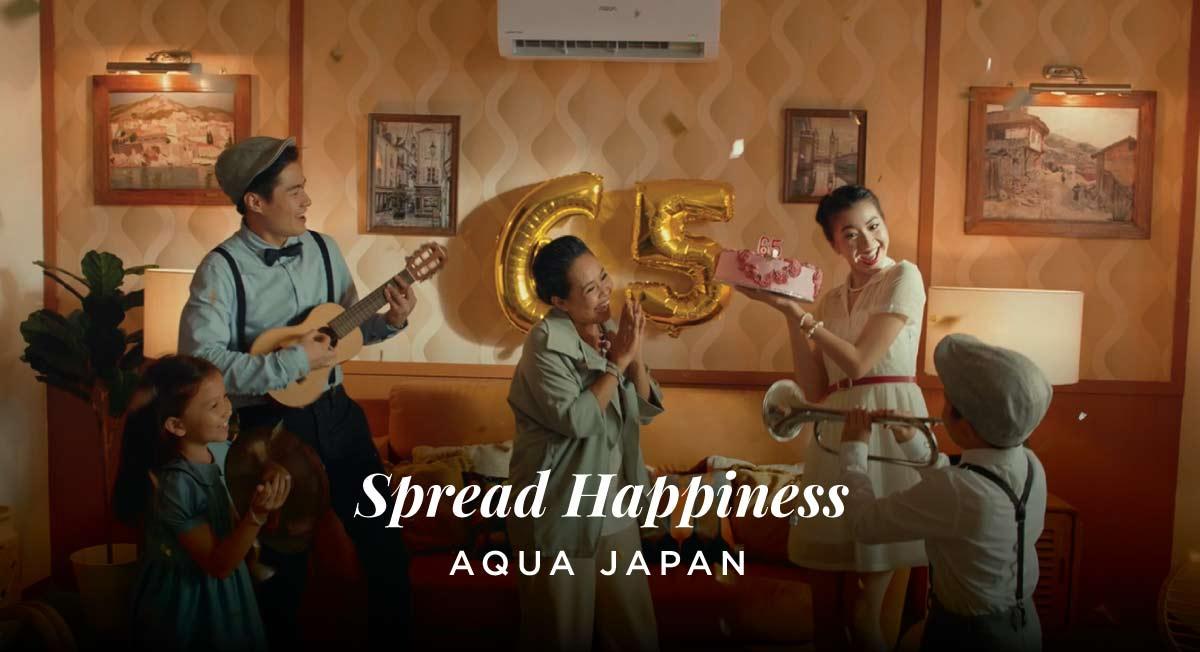 Ayudha Suwono – Aqua Japan