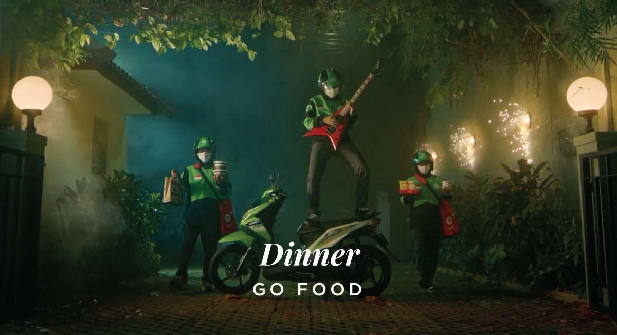 Angga Anggur – Go Food